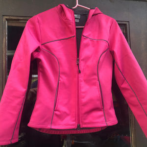 Champion women's Pink Hoodie Jacket Size XS